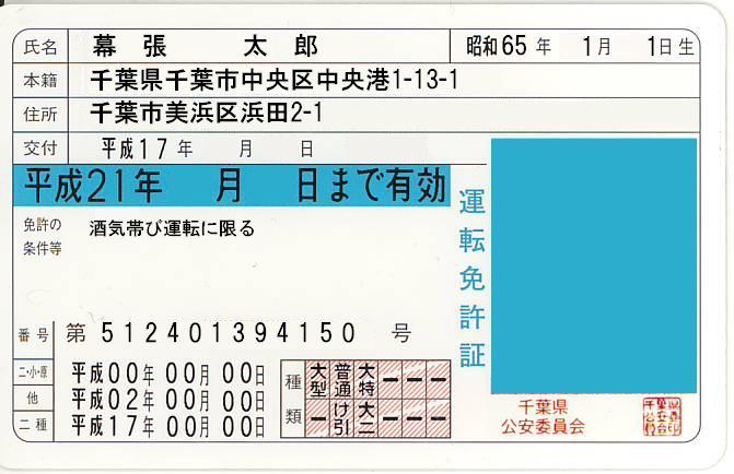 県 免許 センター 運転 千葉